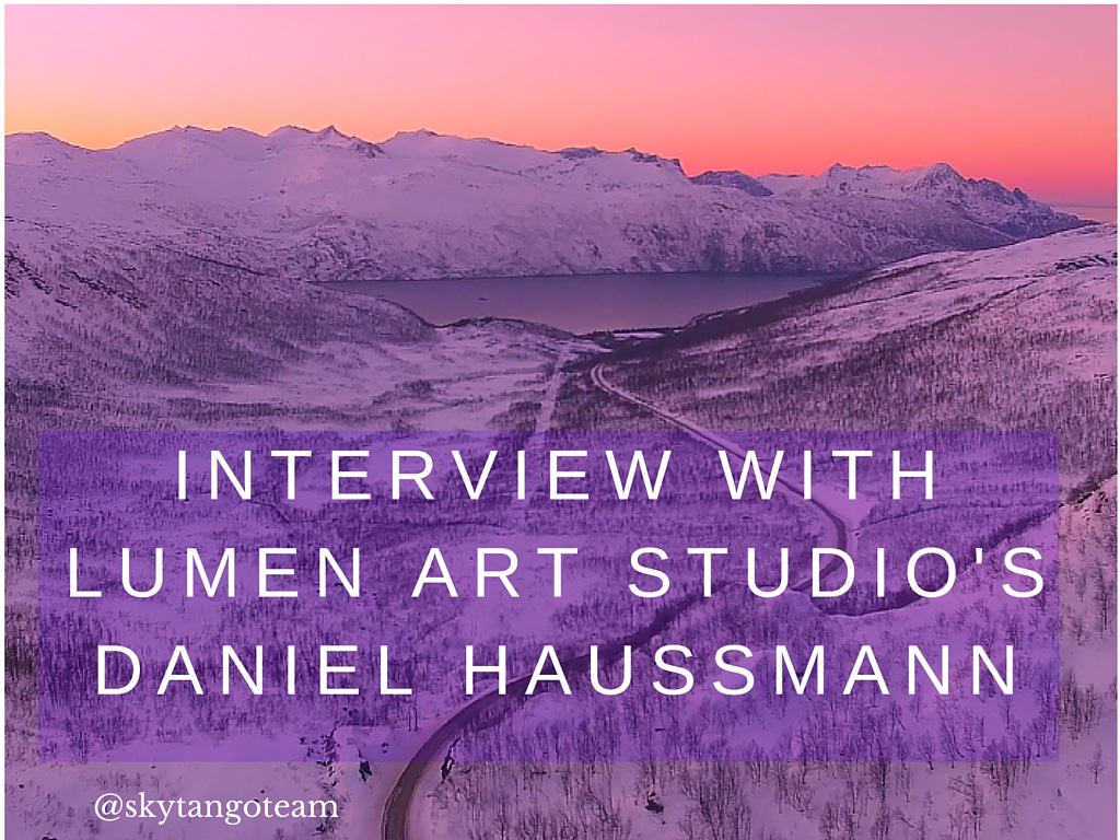 Aerial Filming The Northern Lights: Interview with Daniel Haussmann