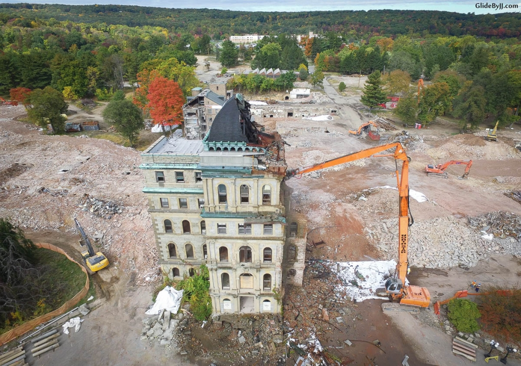 Greystone Park Psychiatric Hospital Demolition