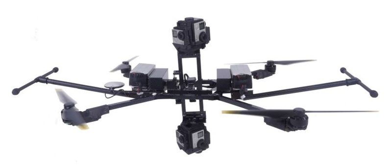 Janus 360 by Drone Volt for virtual reality