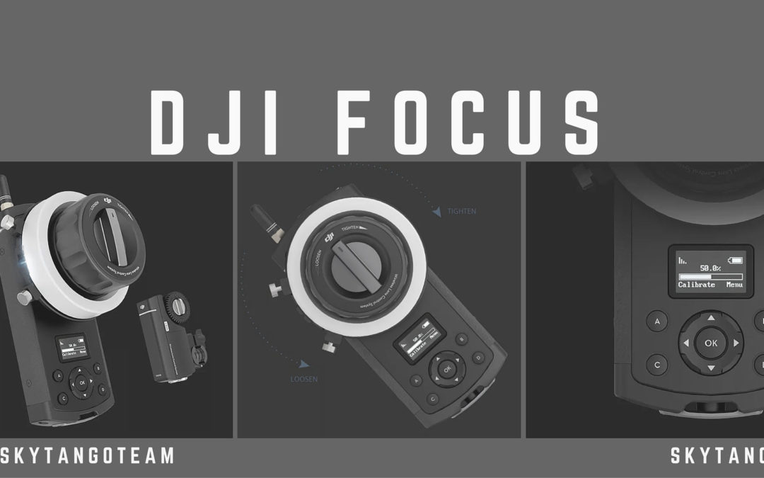 DJI Focus Lets You Adjust Your Drone Camera From the Ground