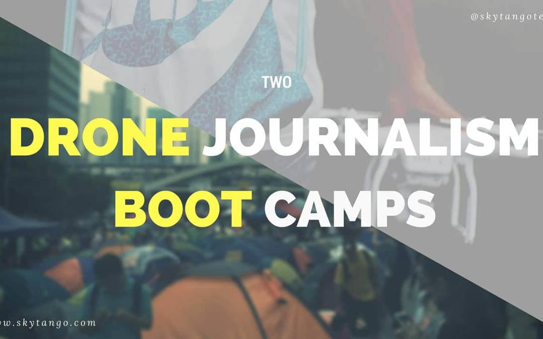 Success Of Two Drone Journalism Boot Camps Reveals Positive Interest