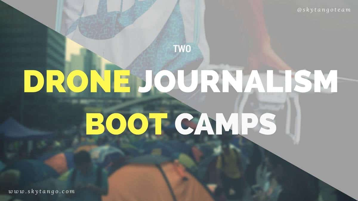 Two Drone Journalism Boot Camps Reveal Positive Interest