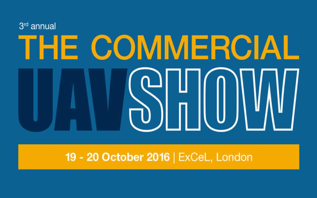3rd Commercial UAV Show To Be Held 19-20 October 2016 in London, UK