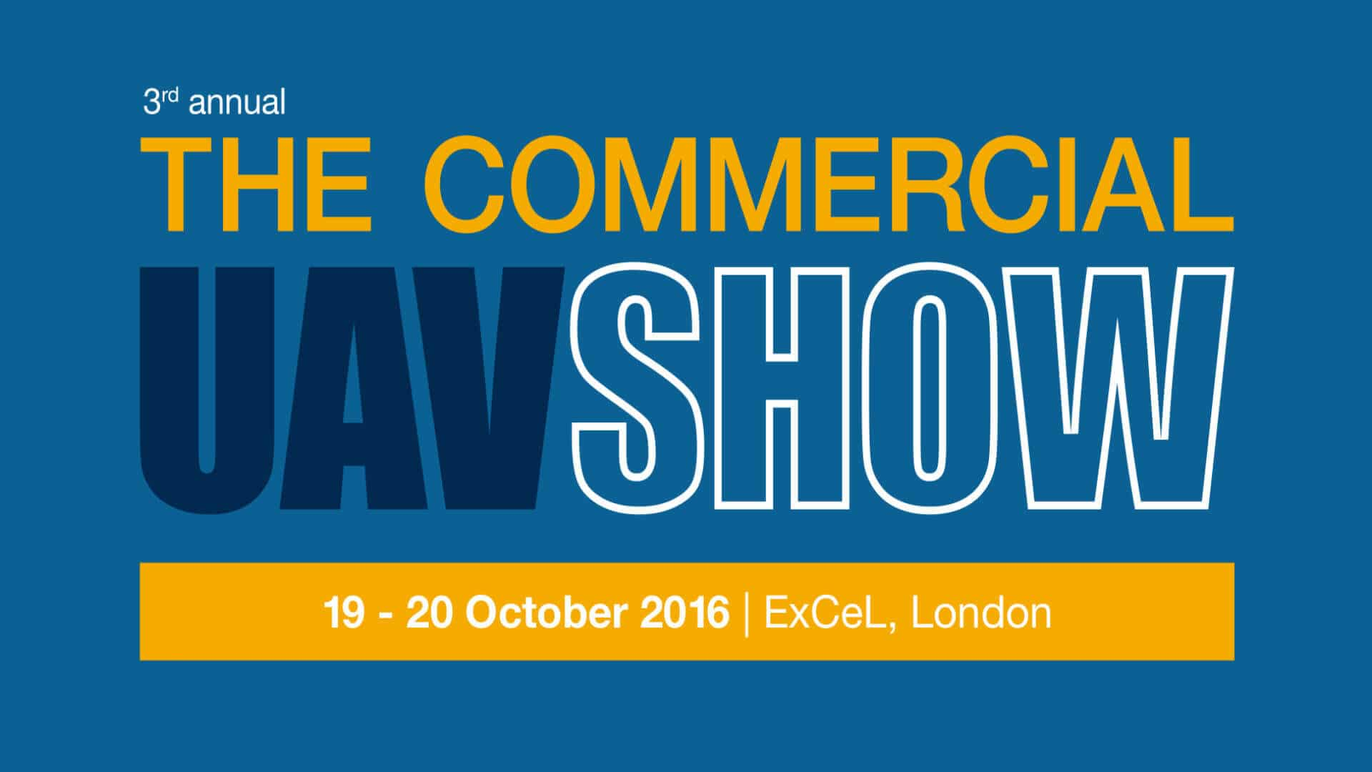 3rd Annual Commercial UAV Show London