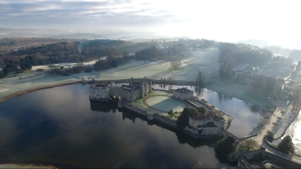 400ft Britain - Drone Photography & Videography Competition Launched By CAA & VisitEngland - Leeds Castle
