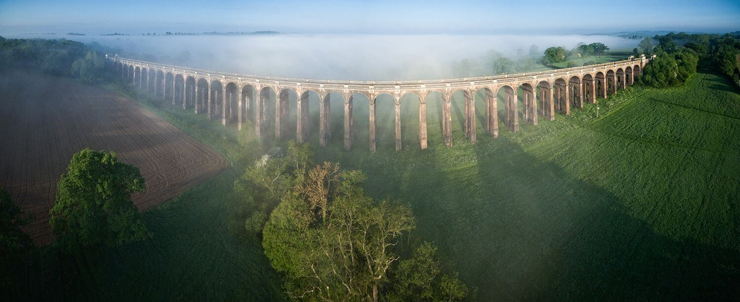 400ft Britain - Drone Photography & Videography Competition Launched By CAA & VisitEngland - Balcombe Viaduct, Mid Sussex