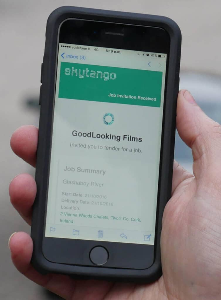 Skytango - The World's First Real-Time Drone Booking App