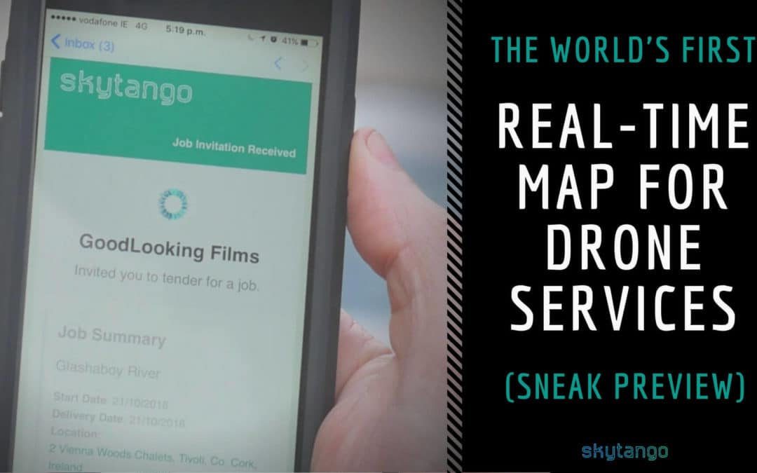 The World's First Real-Time Map For Drone Services – Sneak Preview