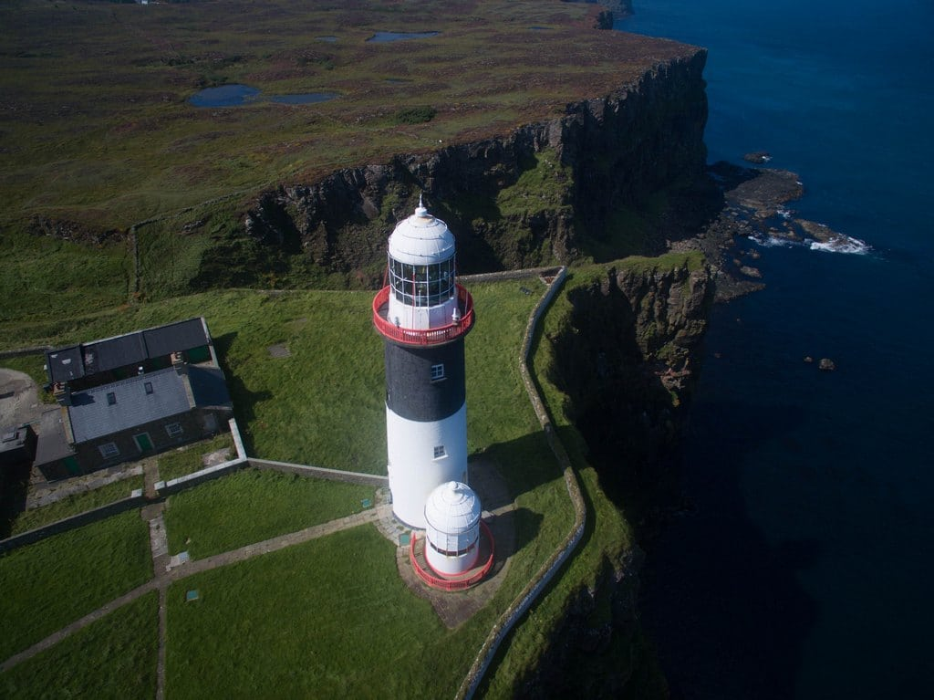 Rathlin East lighthouse, also known as Altacarry