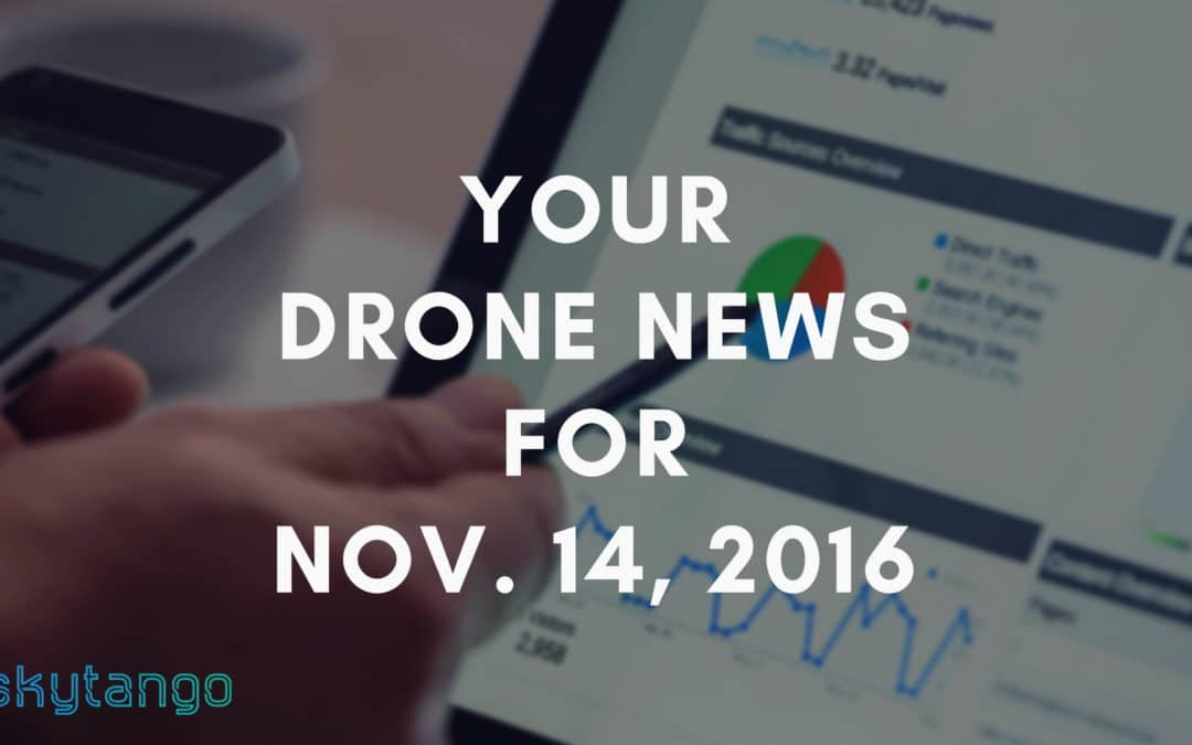 Your Drone News For Nov. 14, 2016: Project Wing, JD, Karma, 3DR SiteScan, Helen Greiner, Drone Racing League