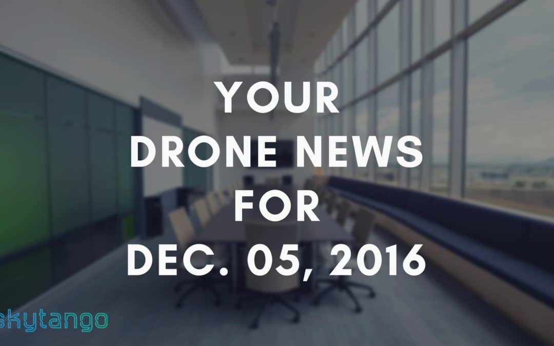 Your Drone News For Dec. 5, 2016: FAA Ban Of Drones, EU Industry, Drones in SAR