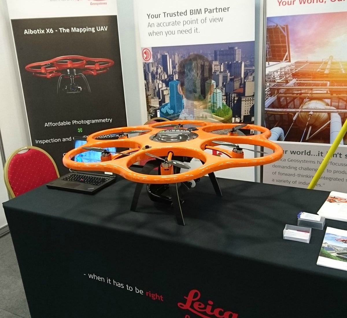 Aibotix showcased at Drone Tech Expo Ireland