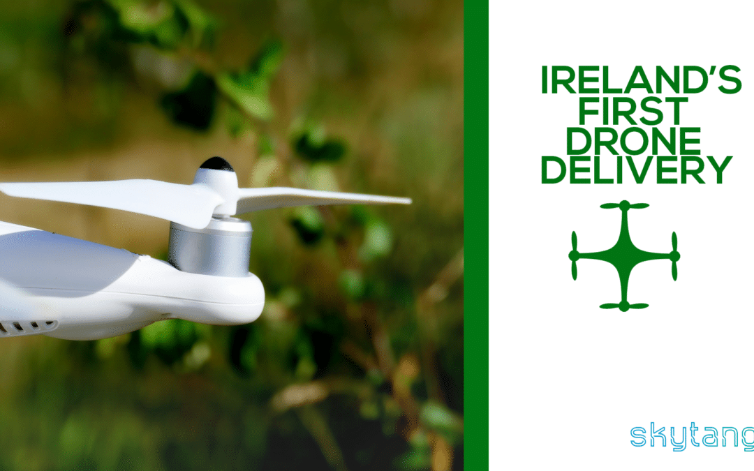 10 Year Old Girl Completes Ireland's First Drone Delivery