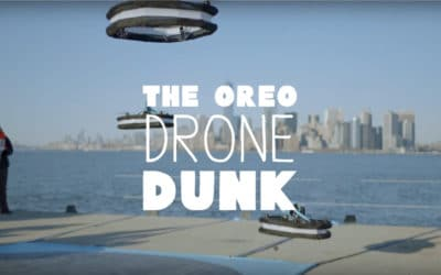 The Drone Dunk: Cookie Brand Oreo Flew Drones To Recreate the Famous Milk Dunk