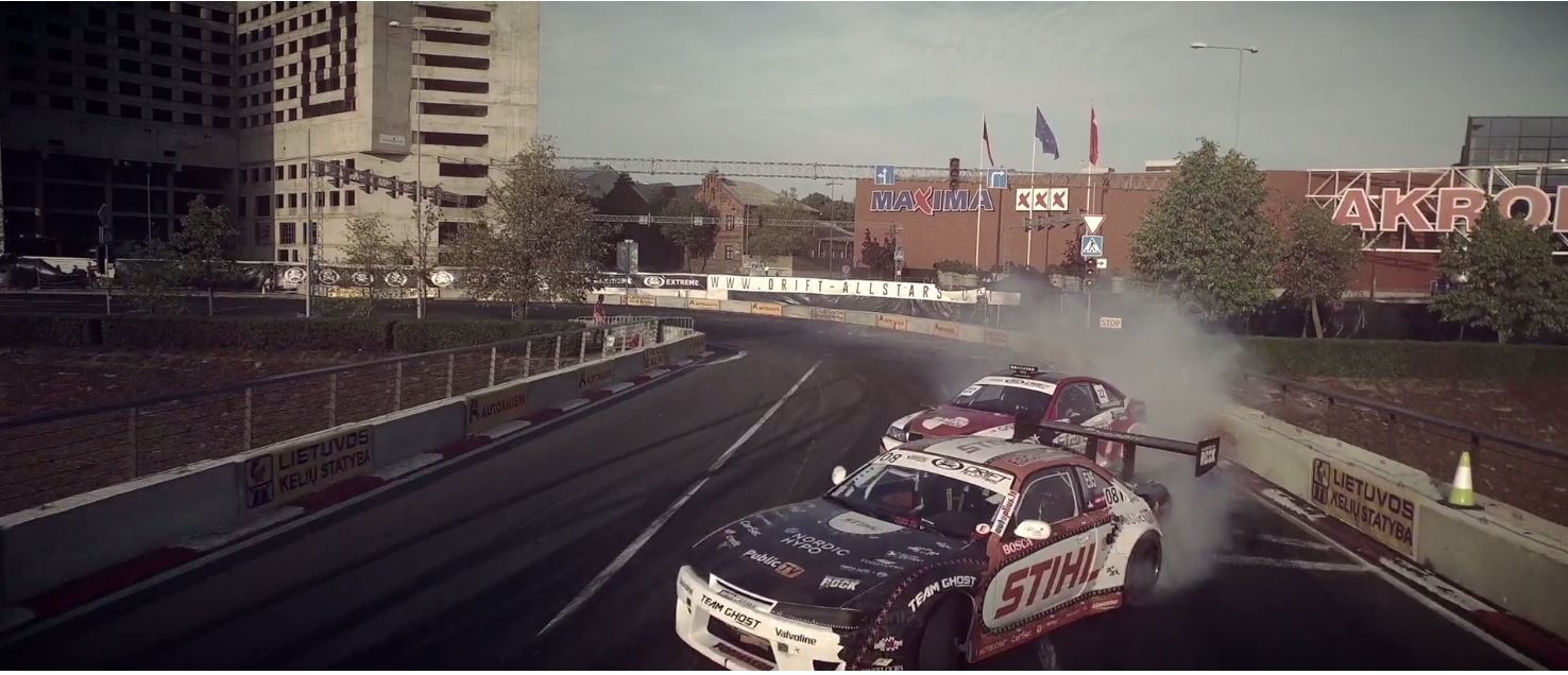 Danny Cooke's Sshowreel - Live drifting cars aerials