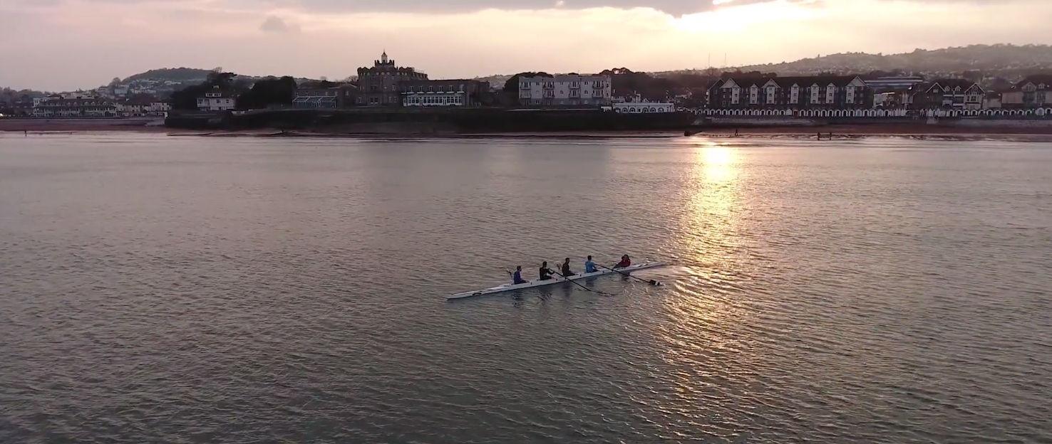 Danny Cooke's showreel - Rowing boats aerials