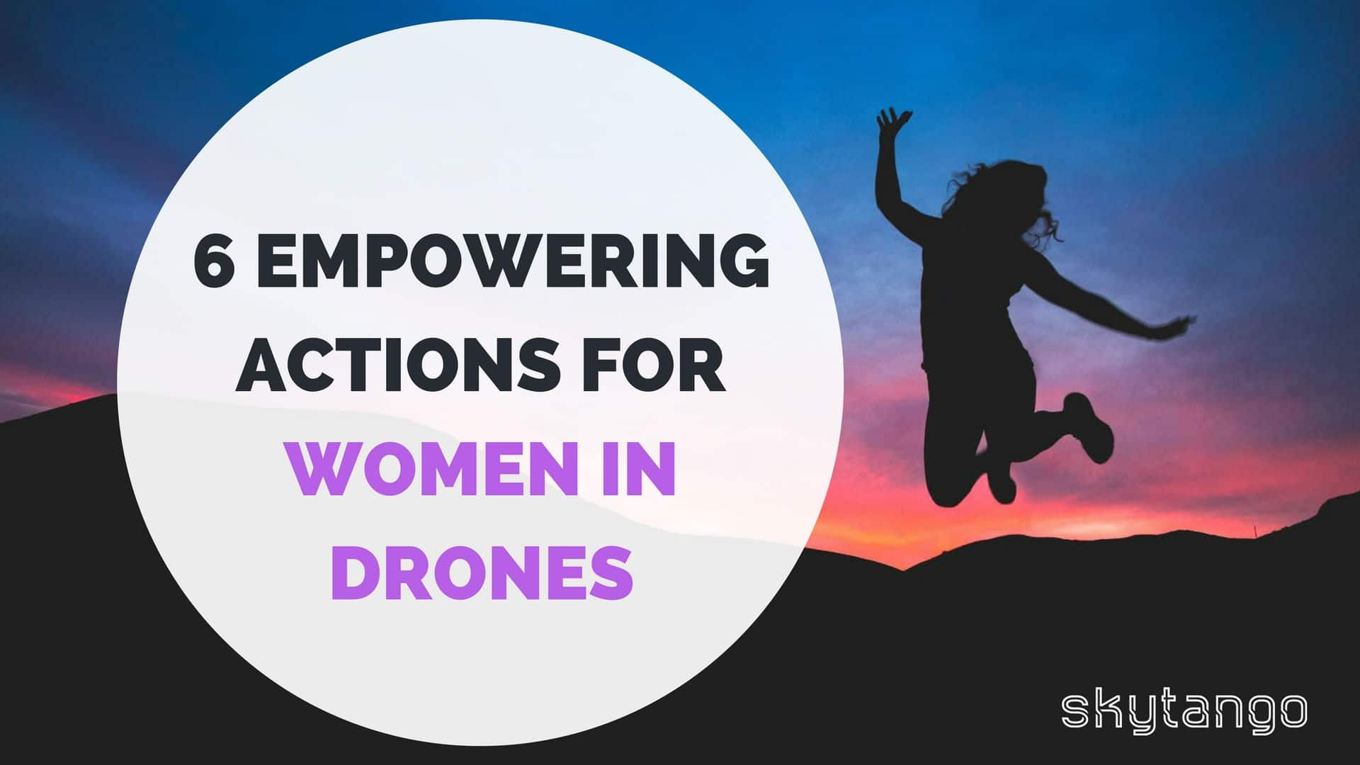 6 empowering actions for women in drones