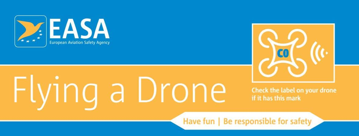 EASA regulations for small drones leaflet