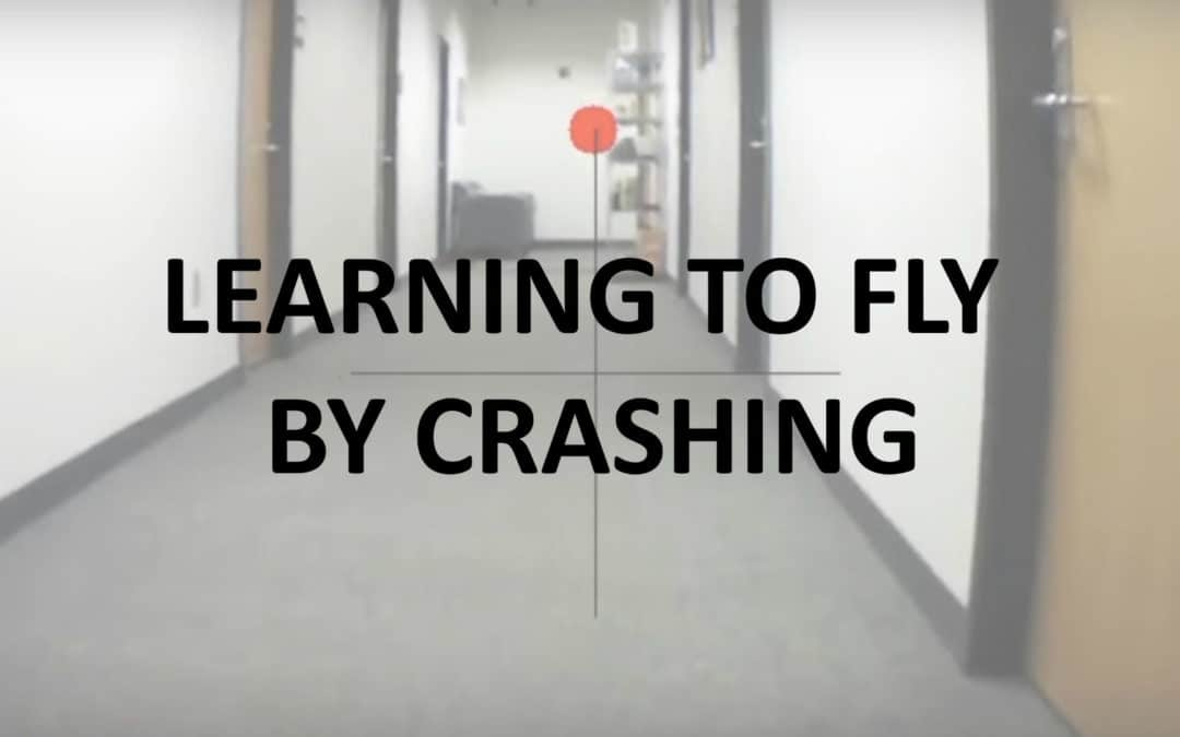 Drone Learns to Fly Autonomously by Crashing 11,500 Times