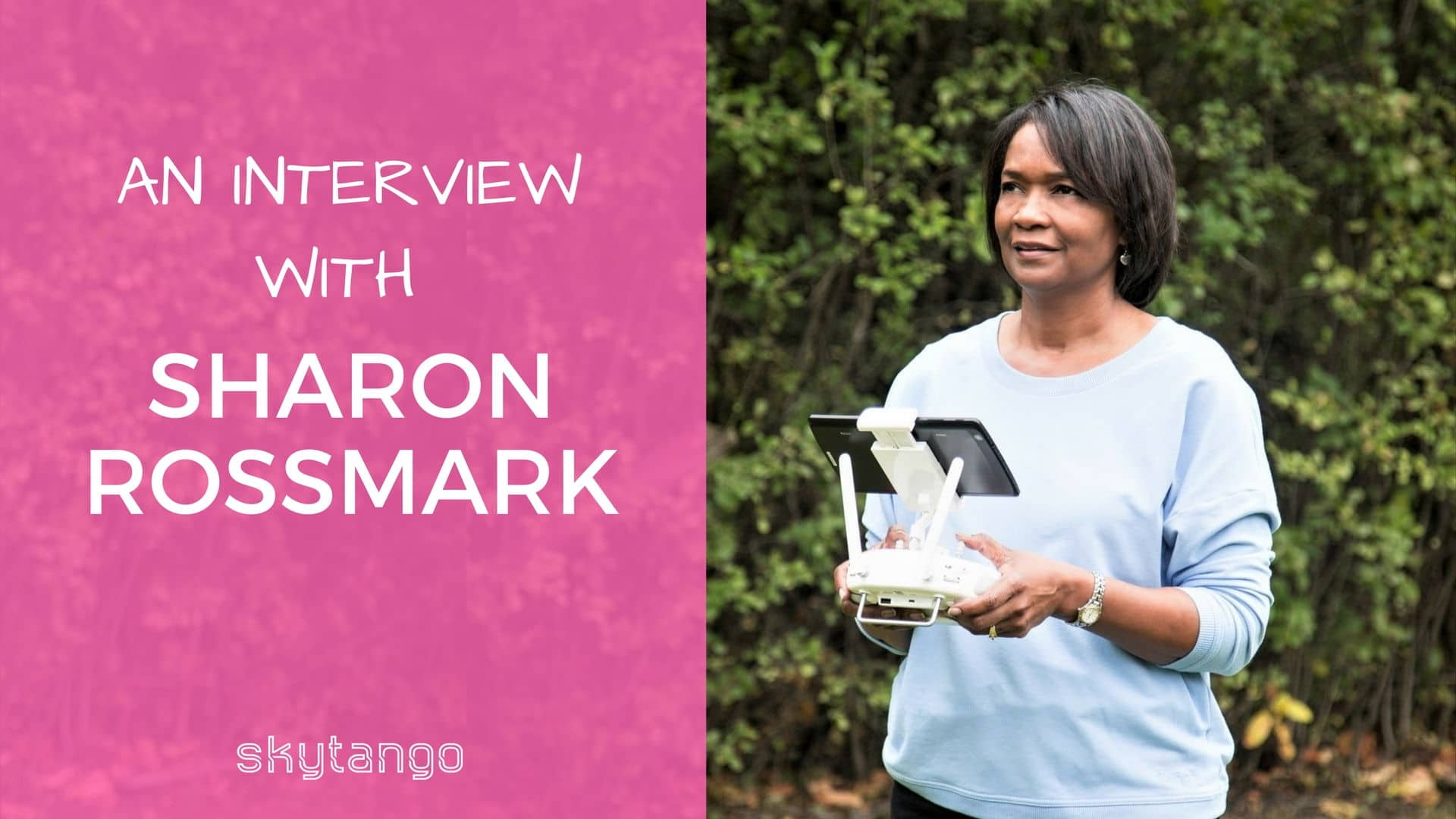 Sharon Rossmark talks women in drones, girls in STEAM