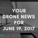 Your Drone News For 19 June 2017: Industrial Inspections, Data, DRL, Autonomous Flight