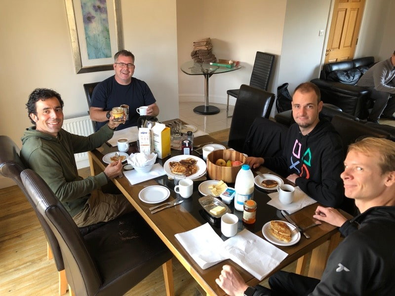 #DiabetesDrone Project Team Breakfast